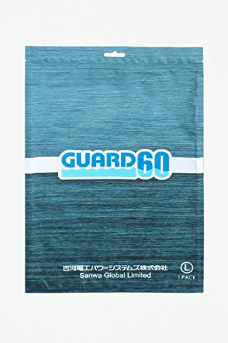 GUARD60 2 Way Humidity Control REGULATING PAD 60% (+/- 10%), Large 1 Pack (for Jewelry, closet, leather products, camera and lens, jewelry, leather car seat)