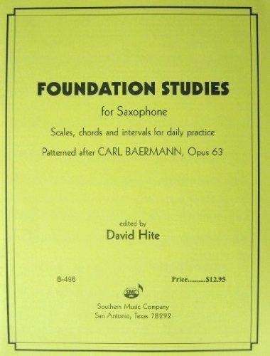 Foundation Studies for Saxophone ()