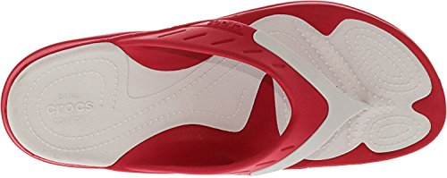 Crocs Flop Sport Flip Modi White Pearl Unisex Pepper Tgqr7Tw