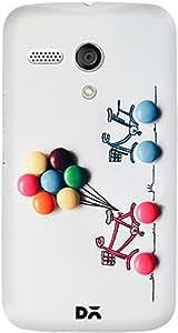 DailyObjects M&M Balloons Case For Motorola Moto G