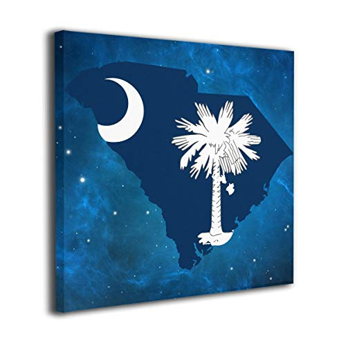 Arnold Glenn South Carolina Scholarships Picture Paintings Canvas Wall Art Prints Contemporary Decorative Giclee Artwork Wall Decor-Wood Frame Gallery Wrapped