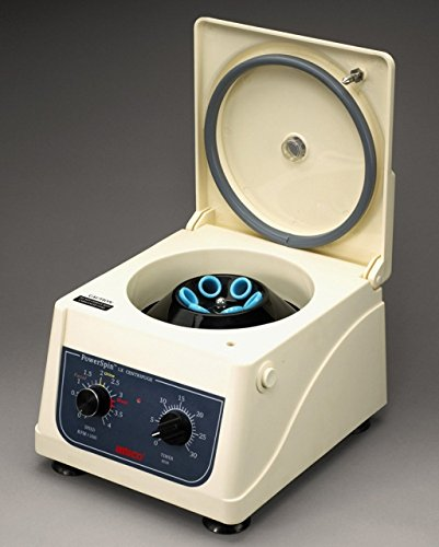 UNICO C858 Power spin Model LX Centrifuge, 300-4000 rpm Variable Speed, 30 minutes Timer, 8 Place Rotor, 8 x 10 mL Capacity, 110V