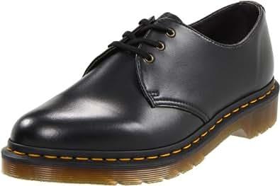 Dr. Martens Unisex-Adult's 1461 Vegan Felix Rub Off Shoes - 6.5 D(M) US / 9 B(M) US, (Black)