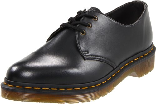 - Dr. Martens Gibson 1461 Vegan Oxford,Black,7 UK (8 M US Men's/9 M US Women's)