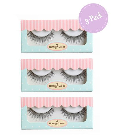 House of Lashes Au Naturale 3 Combo Pack False Eyelashes