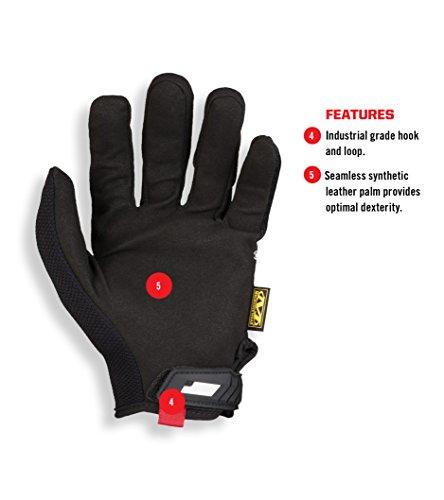 Mechanix Wear Original Gloves Xxx Large Seamless Palm