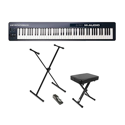 M-Audio Keystation USB Keyboard Controller with Pitch-Bend for sale  Delivered anywhere in USA
