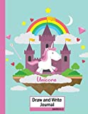"""Unicorn Draw and Write Journal. Grades K-2: Primary Story Journal (Dotted Midline and Picture Space) 109 Pages Large Size 8.5"""" x 11"""". Write and Draw ... Castle Composition Notebooks For"""