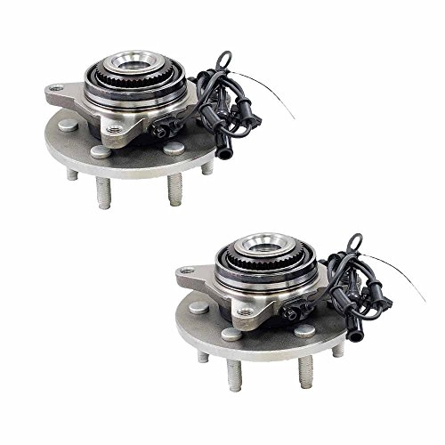 515043 x 2 ( Set of 2 ) Brand New Wheel Bearing Hub Assembly Front Left and Right Side ( 6 Lug 4WD 4-Wheel ABS )Fit 03 - 06 Ford expedition, 03 - 06 Lincoln Navigator
