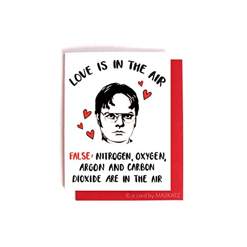 Dwight Schrute Anti-Love - The Office Valentine's Day / Anniversary Card