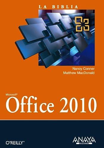 amazon com la biblia de office 2010 office 2010 the missing rh amazon com Office Dental Office Manual Office Dental Office Manual
