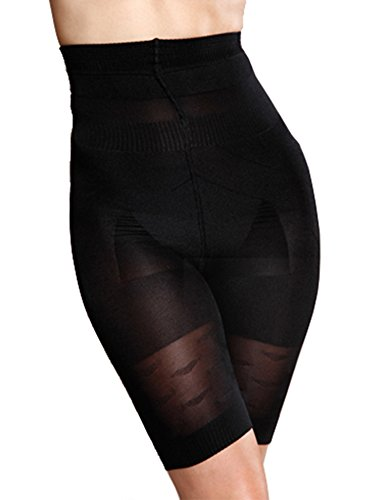 Tomasar Women's Weight Loss Shapewear High-Cuts Trainer Reduces Waistline Slimming Bodysuit & Pants (S-XXXL) (Body Whole Spandex)