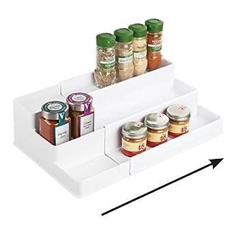 Amazon.de: mDesign Gewürzregal für Küchenschrank und Arbeitsfläche ...