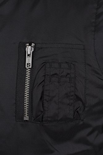 Classics Urban Negro Hombre Vest Black Chaqueta para 7 Bomber drpWrznaHP