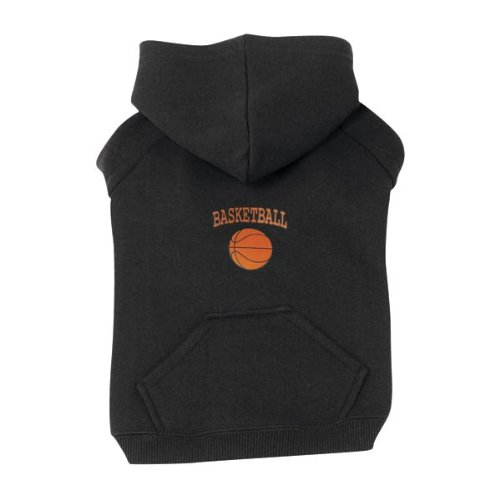 Zack & Zoey Polyster/Cotton Dog Sports Sweatshirt, XX-Large, Basketball, 30-Inch