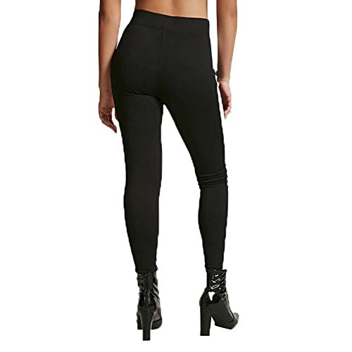 Yalatan Donna Yoga Workout Gym Fitness Running Stretch Trousers Sports Pants