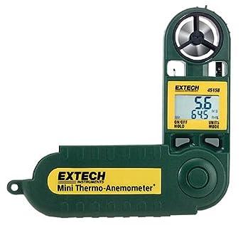 Extech 45158 Termo-anemómetro y medidor de humedad a prueba de agua tamaño  mini  Amazon.es  Industria 07038dc296b