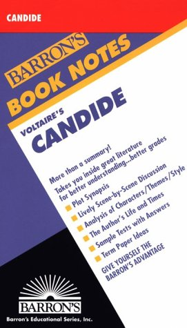Voltaire's Candide (Barron's Book Notes)