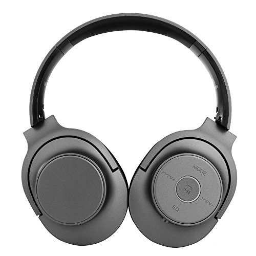 Bluetooth Headphones, Comfortable Earpads Hi-Fi Stereo Wireless Headset, 22 Hours Playtime for TV Computer Travel Work Training (black)