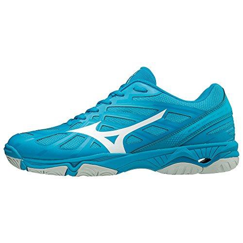 3 Wave 001 Homme Bleu Basses Mizuno hawaiianocean Sneakers bjewel wht Hurricane HpwWqAOE