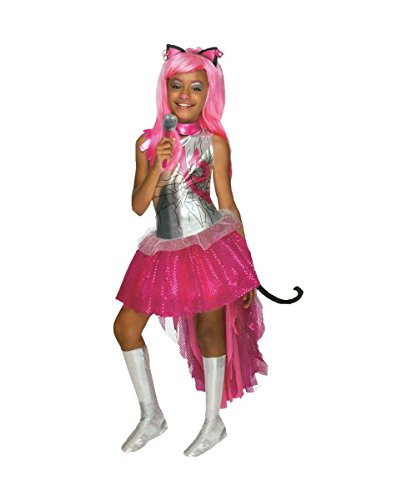 Monster High Catty Noir Child Costumes (Catty Noir Monster High Girls Costume Dress)
