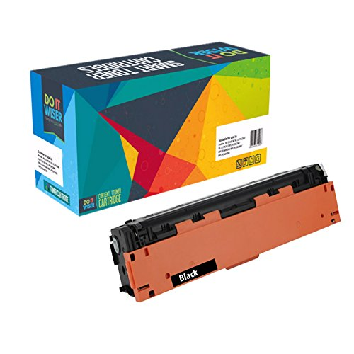 Do it Wiser Compatible Toner Cartridge for HP 201X HP CF400X for HP Color Laserjet Pro MFP M277dw M252dw MFP M277n M252n - High Yield Black