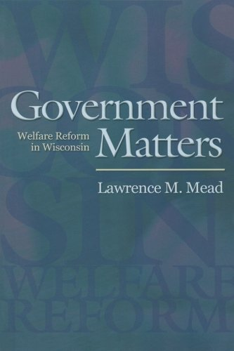 government welfare There's no incentive for government's dependents to work when today's patchwork of state and federal welfare programs provides more.