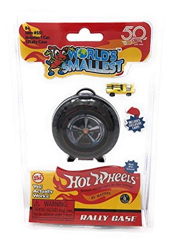 Worlds Smallest Hot Wheels Super Rally Case, Multi