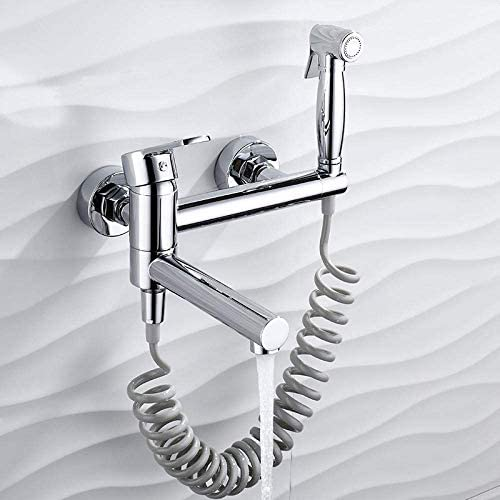 CHENBIN-BB トイレビデ - フル銅拡張バスタブ蛇口ホット&コールドシャワー蛇口シャワーセット