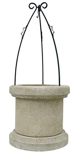 Pozo Brocal Decorativo Para Jardin En Piedra 70x70x169cm Amazon Es