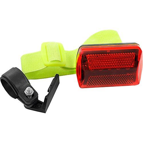 Five LED Flashing Nighttime Safety Light with Armband, Bike Mount, and Belt Clip