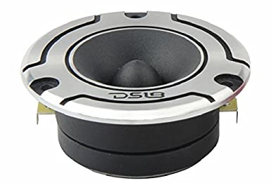 200W RMS 300W Max 1 PRO Tweeters are The Best in The Pro Audio and Voceteo Market DS18 PRO-TW120B Super Tweeter in Black Built in Crossover 4 Ohms Aluminum Frame and Diaphragm Pair