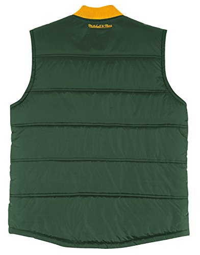 """58b4eb8c2 Green Bay Packers Mitchell   Ness NFL Men s """"Play Clock"""" Throwback Vest  Jacket"""