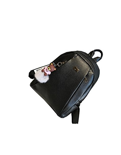 Cuir En Dames 4 ZM New Couleurs Dos Option Black à Sac En Fashion InBBg6Xt