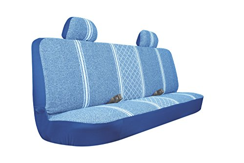 Allison 67-1919BLU Blue Diamond Back Large Bench Truck Seat Cover - Pack of 1