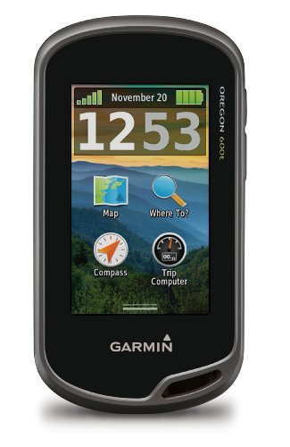 (Garmin Oregon 600t 3-Inch Worldwide Handheld GPS with Topographic Maps)