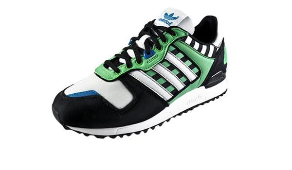adidas Children - Zapatillas para Mujer, Color Black/White / Tropic Green, tamaño 8.5 UK: Amazon.es: Zapatos y complementos
