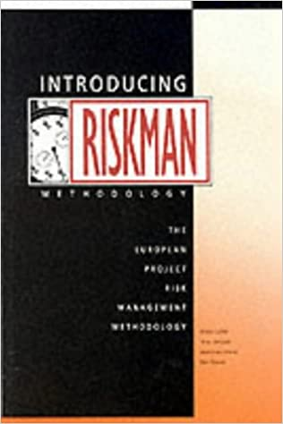Book Introducing Riskman: The European Project Risk Management Methodology