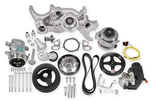 Holley Performance 20-185 Mid-Mount LS Accessory Drive System Kit
