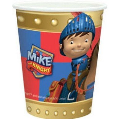 - Mike The Knight Paper Cups (pack Of 8)