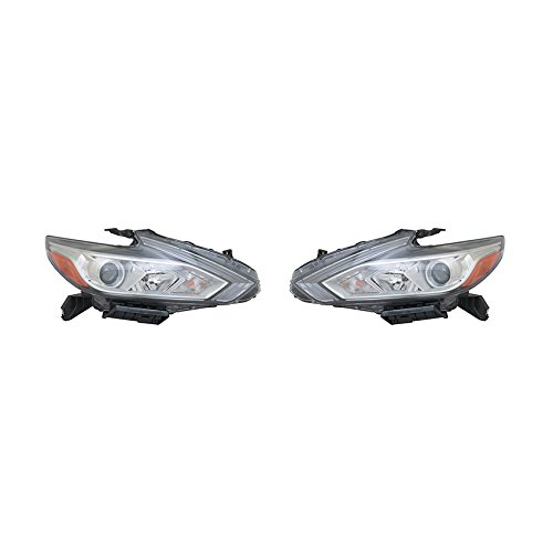 NEW PAIR OF HEADLIGHTS FITS NISSAN ALTIMA 2016 26010-9HS0A 260109HS0A NI2502247 (Computer Altima Nissan)