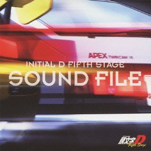 INITIAL D FIFTH STAGE SOUND FILE by Avex Japan