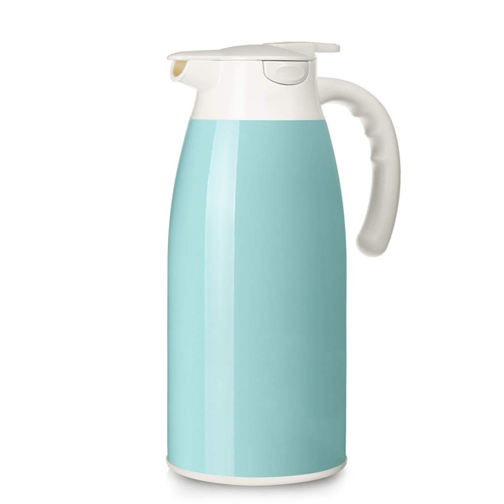 FYCZ Thermoskannen, 2.1L-Vakuumkrug 304 Edelstahl-Doppelwand-Vakuumisolierter Saft/Milch- / Tee-Isoliergefäß Im Freien Große Kapazität Wasserkocher D5