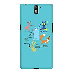 DailyObjects Animals Case For OnePlus One