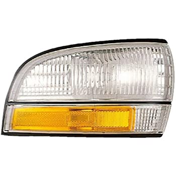 Drivers Park Signal Front Marker Light Lamp Lens Replacement for Buick 16512683