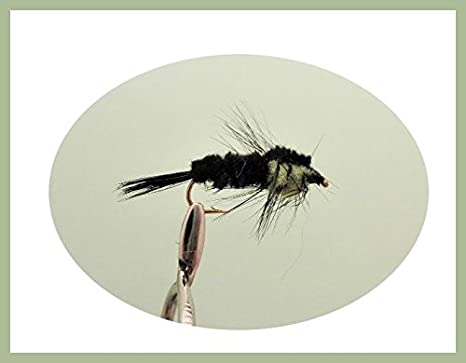 Montana Trout Fly 12 Pack Pink Long Shank Montana Mixed 10//12 Fly Fishing