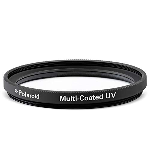Polaroid Optics PL-FILUV62 - Filtro de proteccion UV de revestimiento multiple de 62 mm