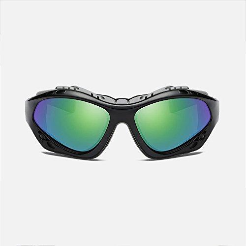 Sunglasses Polarizadas Glasses Sports Mountaineering Outdoor Sol De Sand Bright Bronze Sports Mirror Gafas Riding SEEKSUNG® Black Wind q6tSF