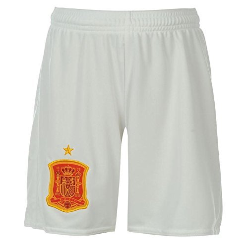Marex Printed White Spain Men and Women Football Shorts- Free Size