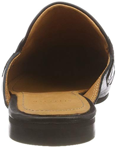Selected black Women's Slffrida Mule B Black Leather Loafers Black rgaxr